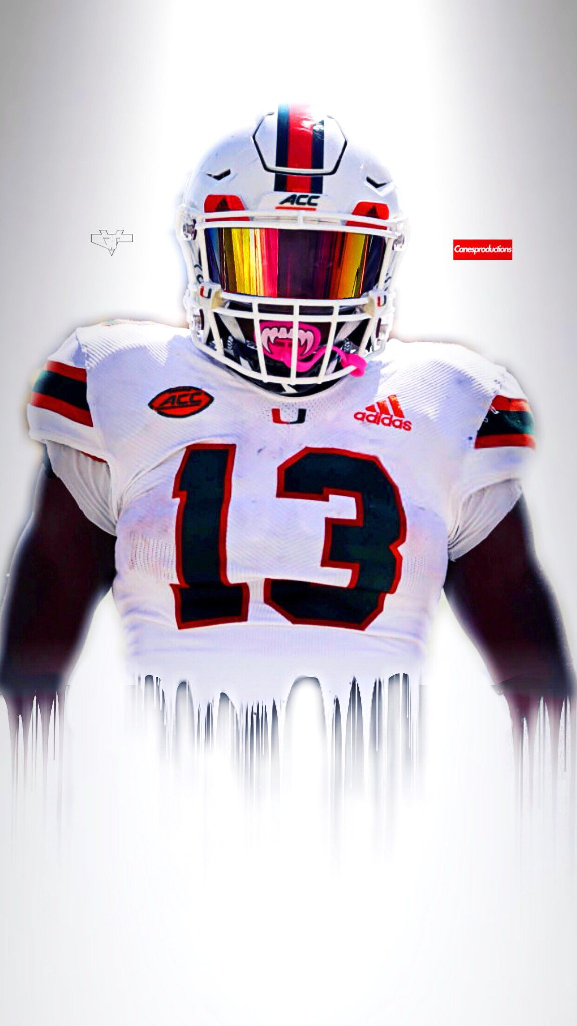 Pin By Fresh On The U Miami Hurricanes Football Miami Football Canes Football
