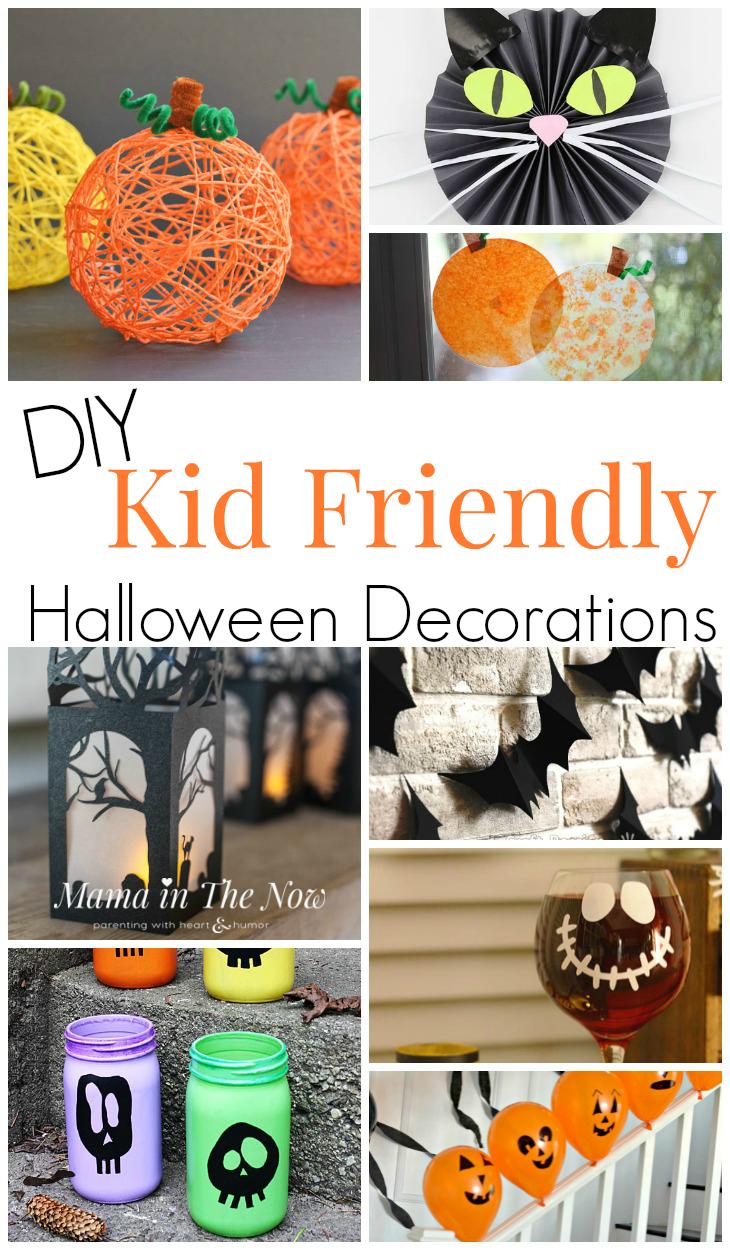 DIY Kid Friendly Halloween Decor Halloween decorations