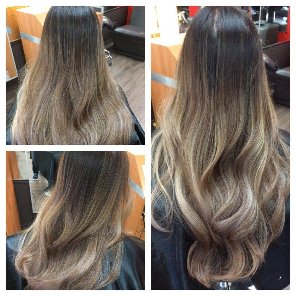 Hair 2001 Ash Tone Balayage Ombre On Asian Hair Westminster Ca