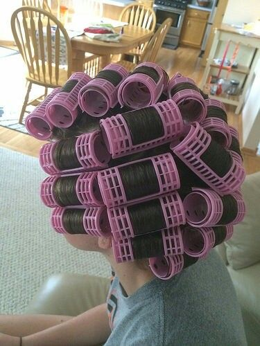 home roller sets are the best Hair rollers, Foam curlers