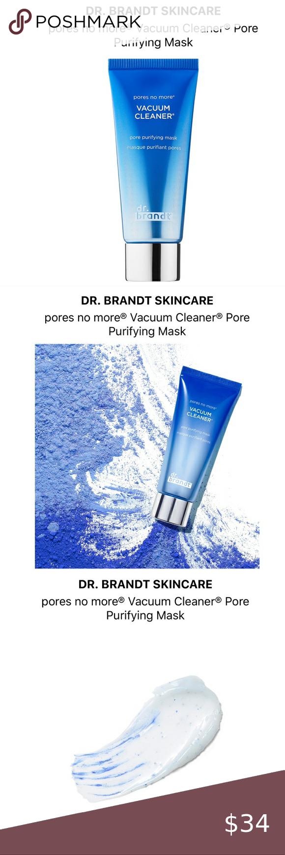 Dr Brandt Pores No More Vacuum Cleaner Pore Mask Clean Pores Pore Mask Purifying Mask