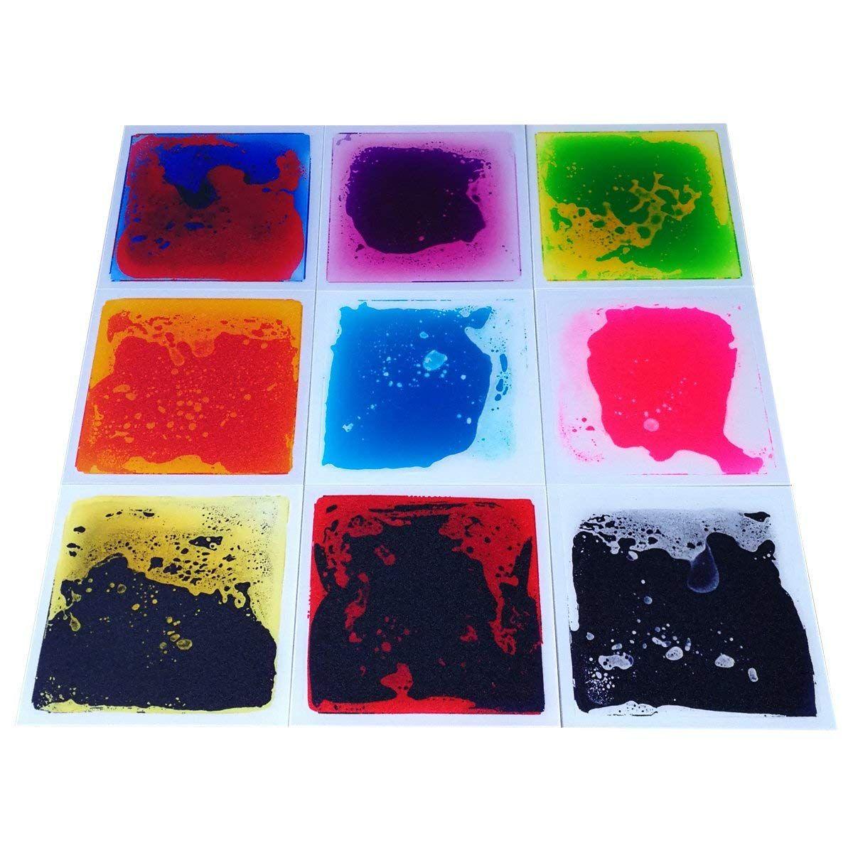 Art3d liquid fusion activity play centers for