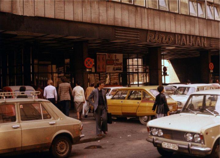 Zagreb 1975 Varsavska Kino Balkan Zagreb Croatia Zagreb Croatia