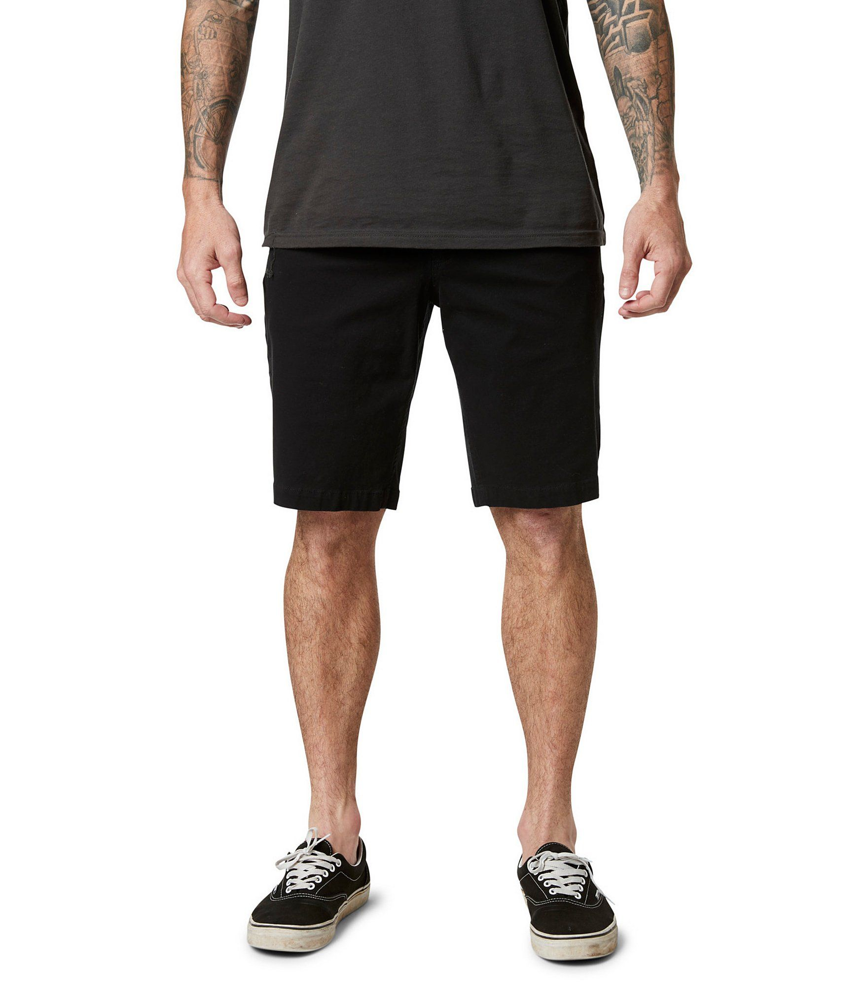 Men/'s Fox Navy Essex Shorts