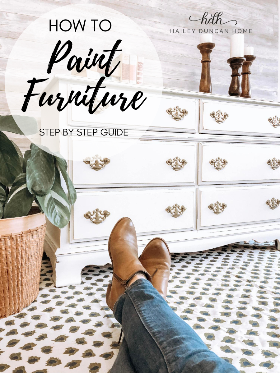 How To Paint Furniture Step By Step Course In 2020 Paint Furniture Painted Furniture Furniture Makeover Diy
