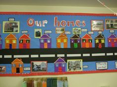Image result for houses and homes topic ks1 | School displays, Art  classroom, Our class display