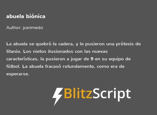 Una nueva idea en BlitzScript.