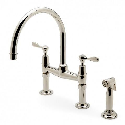 Waterworks Easton Classic Kitchen Faucet with Spray in ...