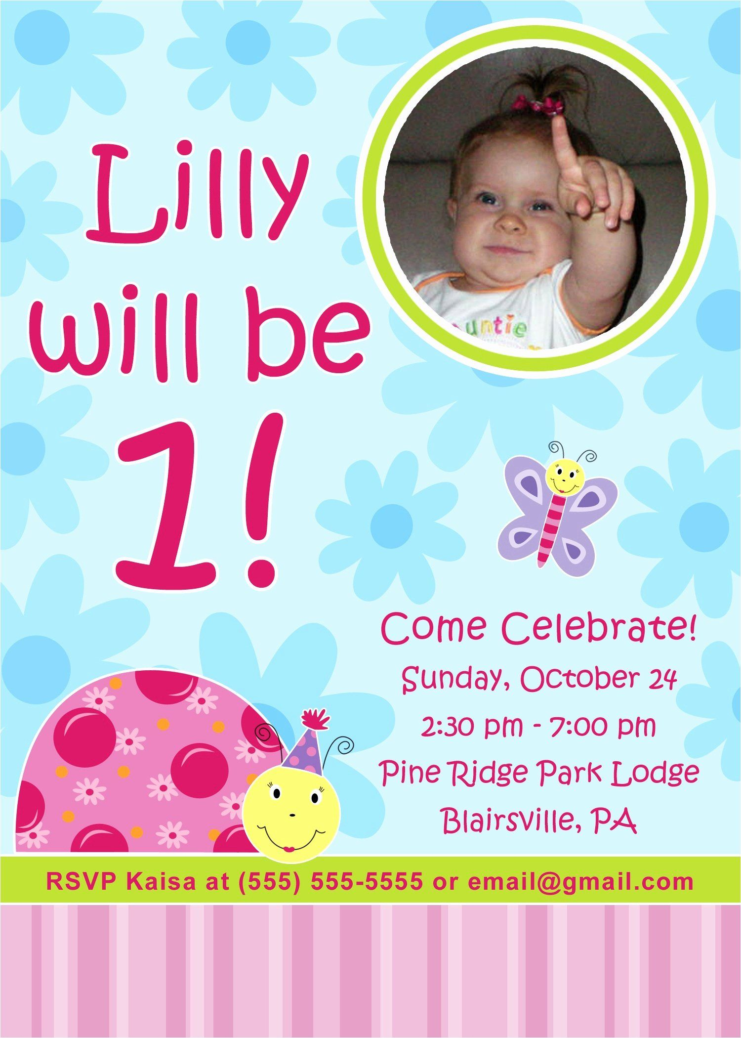 Editable 1st Birthday Invitation Card Free Download Lovely Editable In 2020 Birthday Invitation Card Template Baby Birthday Invitations Happy Birthday Invitation Card