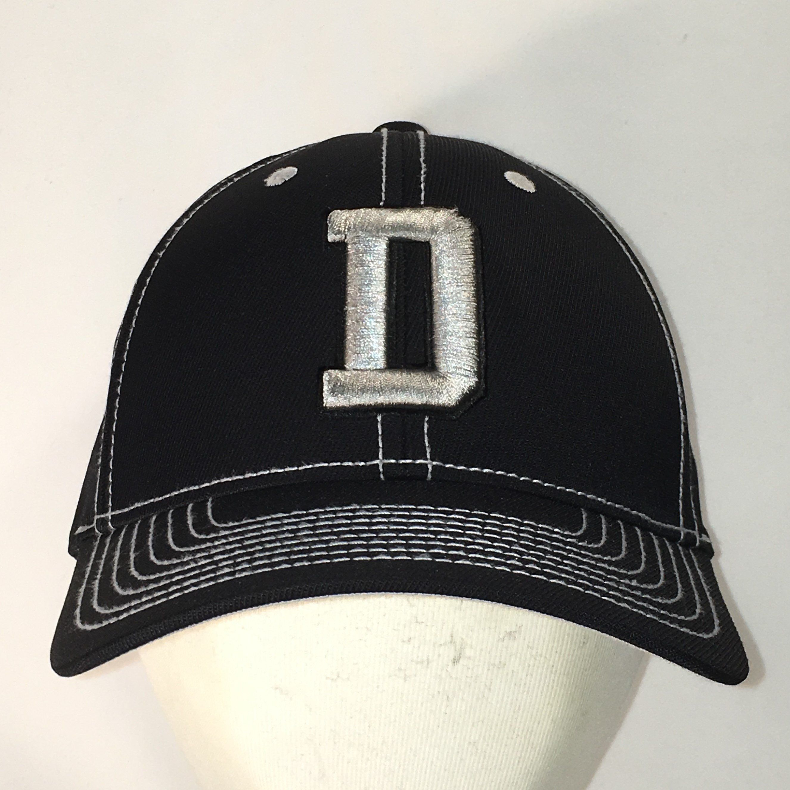 d2184858f Big D Dallas Cowboys Hat Blue Gray Baseball Cap NFL Football Dad ...