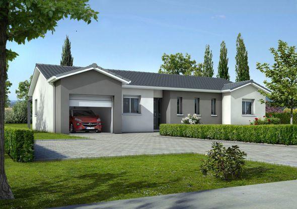Maison - Eos - Maisons de la Côte Atlantique - 109500 euros - 10133 - modeles de maison a construire