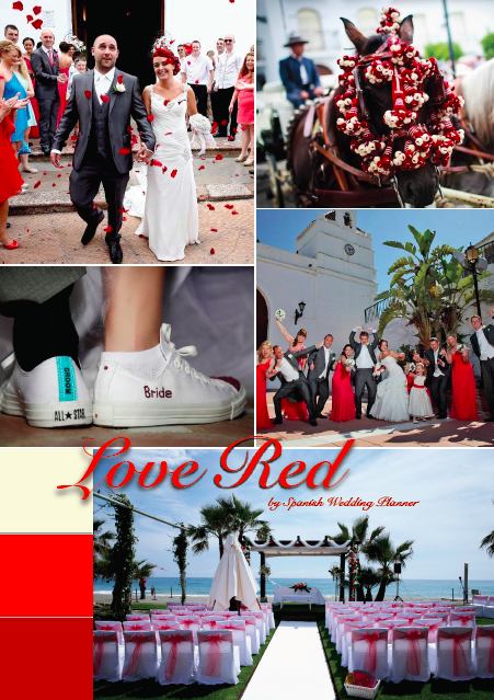This theme goes great with our red sashes! Red. Love