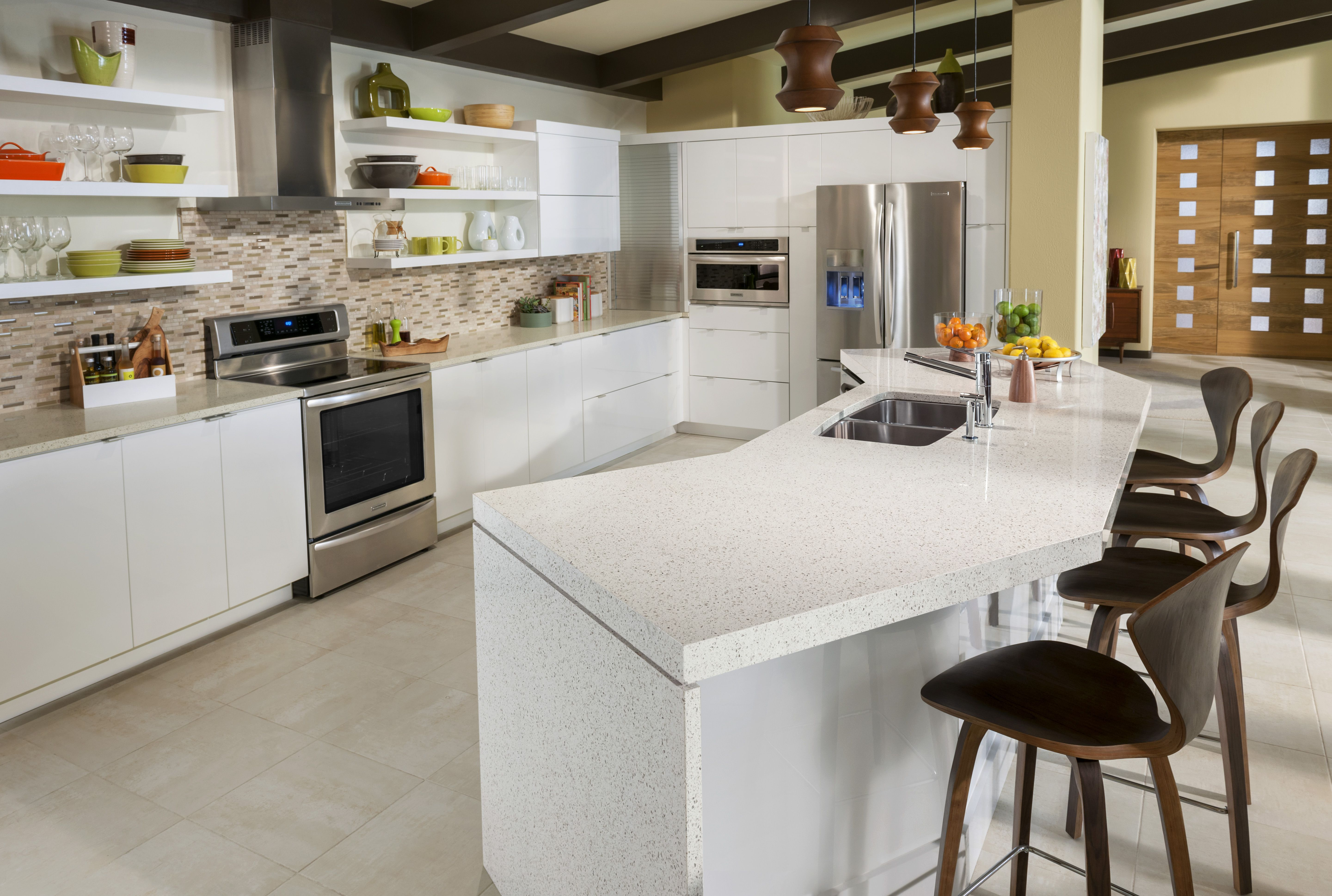 geos kona recycled glass countertops | recycled glass countertops
