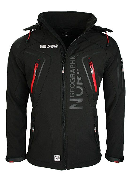 Geographical Norway - Giacca impermeabile - Uomo Nero nero | combat gear |  Pinterest | Geographical norway and Man style