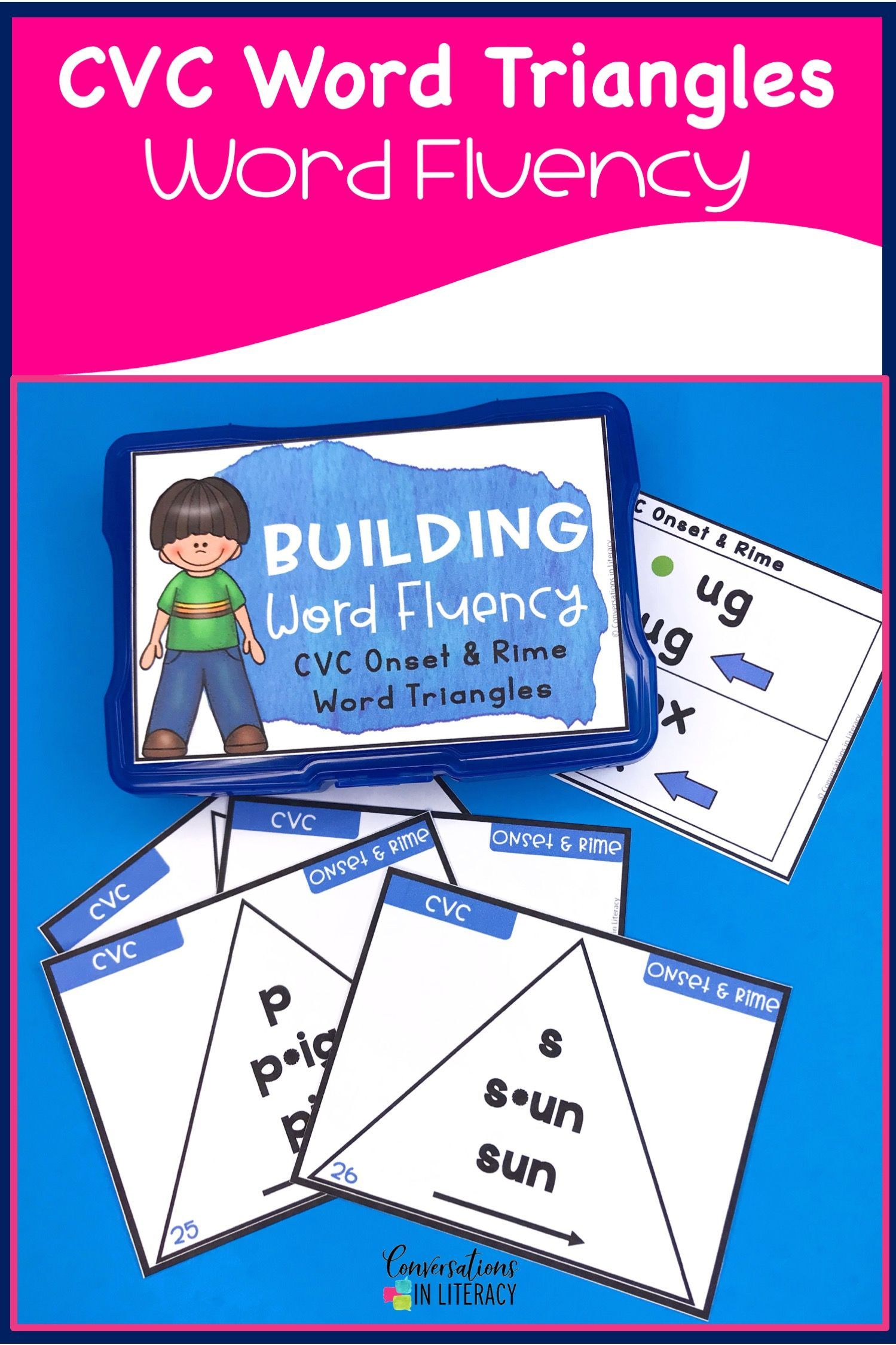 Short Vowel Cvc Onset And Rime Building Word Fluency