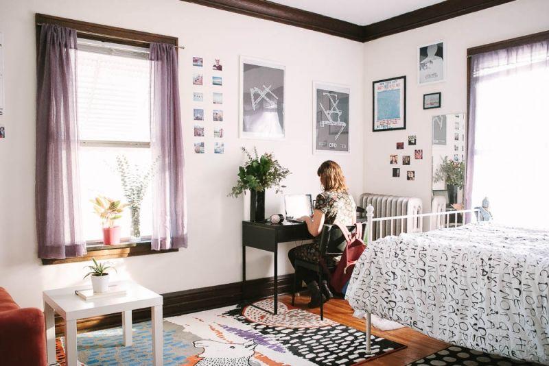 Perfect Rebecca Schultzu0027s Minneapolis Studio Apartment Tour #theeverygirl Nice Design