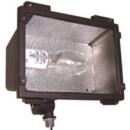 50 Watt Hps Br Compact Floodlight With Glare Shield, Multicolor