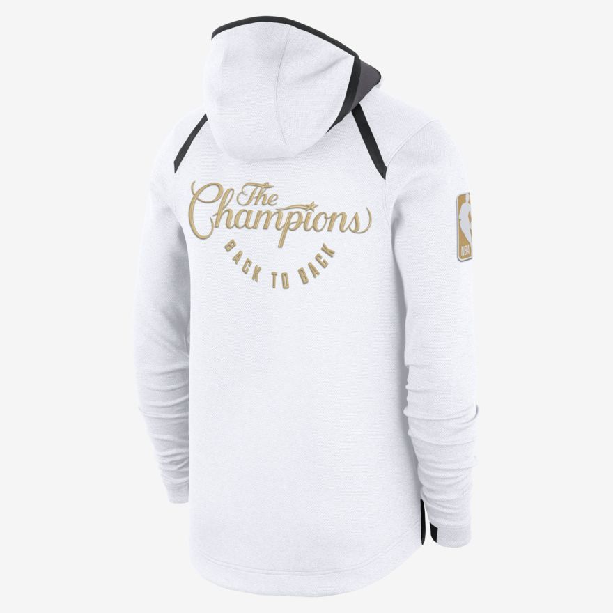 eb9a1ef883f Golden State Warriors Nike Therma Flex Showtime Men s NBA Hoodie ...