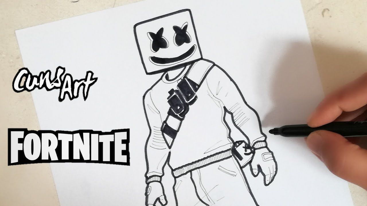 Dibujos De Fortnite Google Search Dibujos Dibujos De