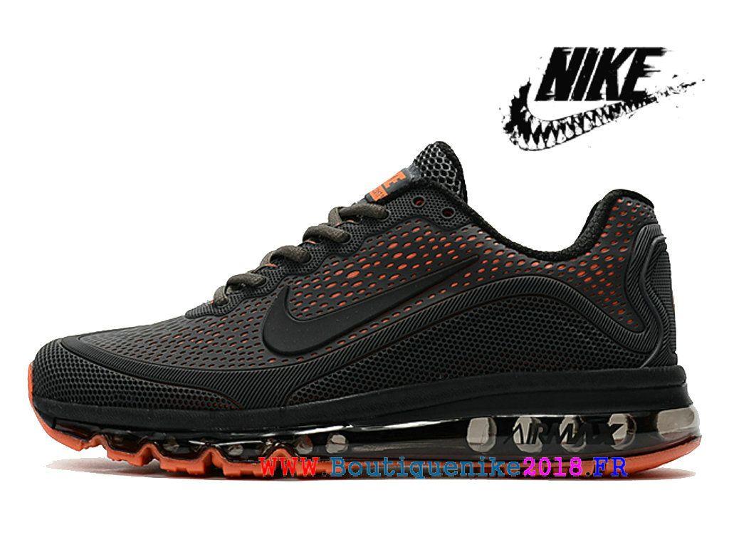 the latest bb807 e44e6 Nike Air 2017.5 Max Kpu Chaussures De Course Sneakers à Vendre Hommes Noir    Orange-
