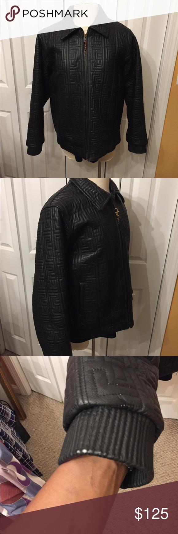 Vintage Vilanto Leather Jacket Size Medium Black Leather Jacket Jackets Vintage Jacket [ 1740 x 580 Pixel ]