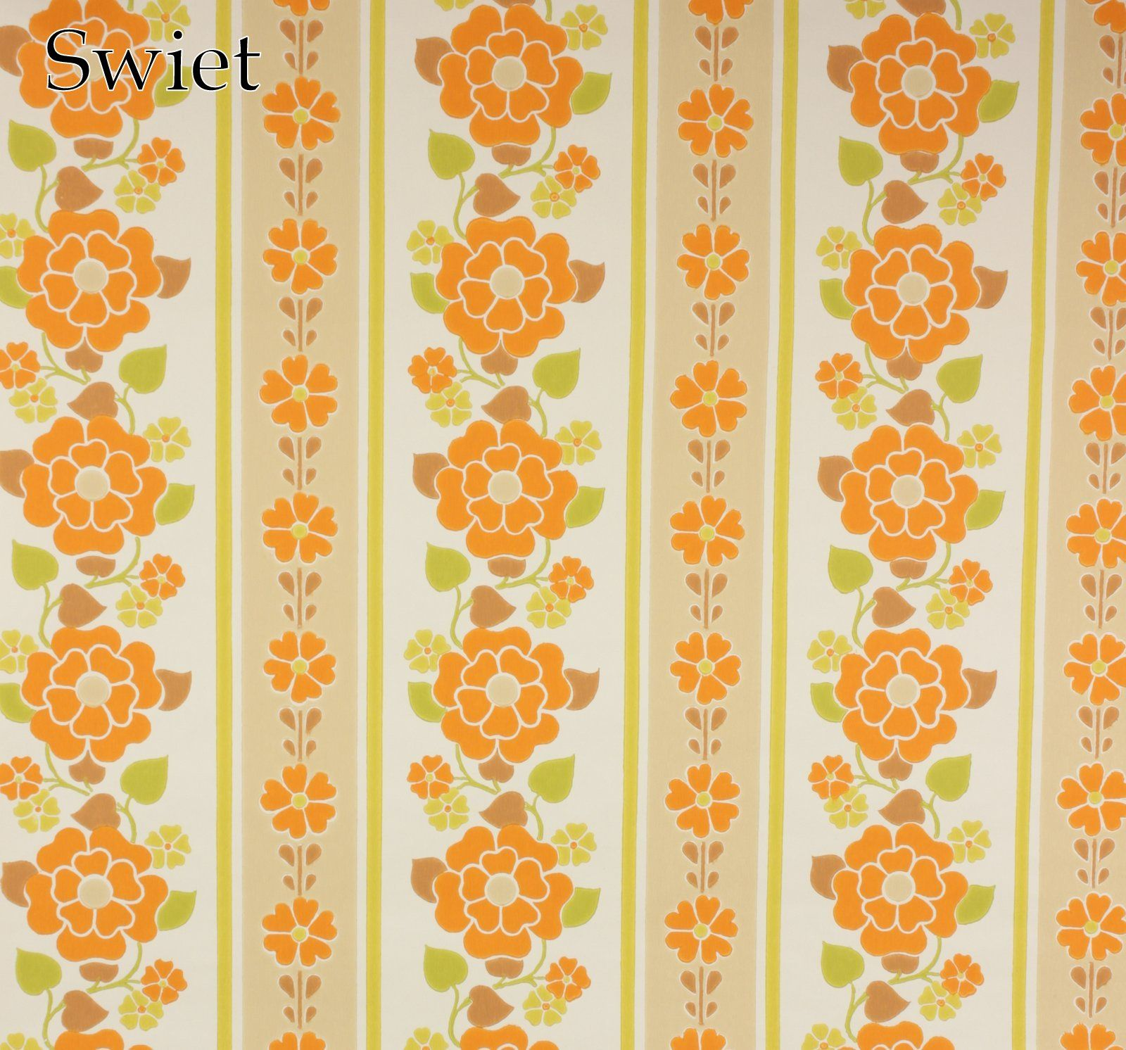 Swiet behang vintage oud retro barok behang wallpaper for Trapgat behangen
