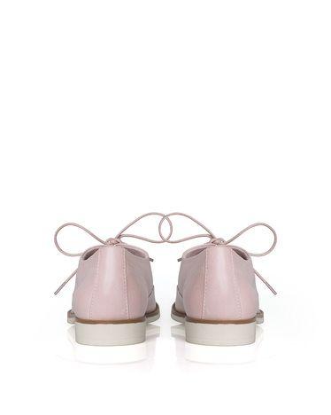 blush + cream loafers