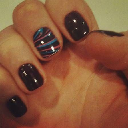 Cool Easy Nail Painting Ideas Nail Paint Ideas Pinterest