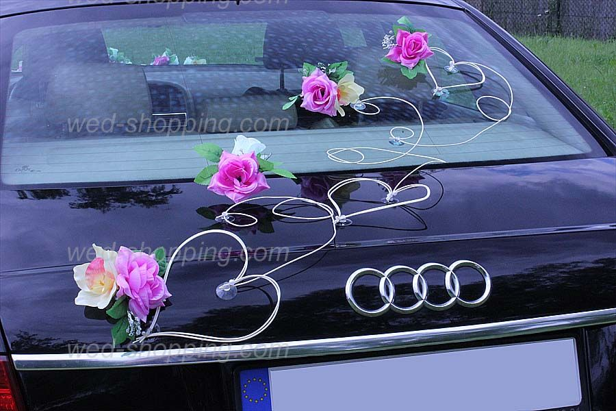 1000 images about voiture mariage on pinterest car stickers wedding ideas and audi a6 - Decoration Voiture Mariage Ventouse