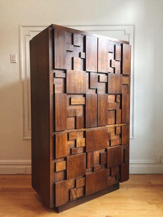 midcentury wardrobe dresser