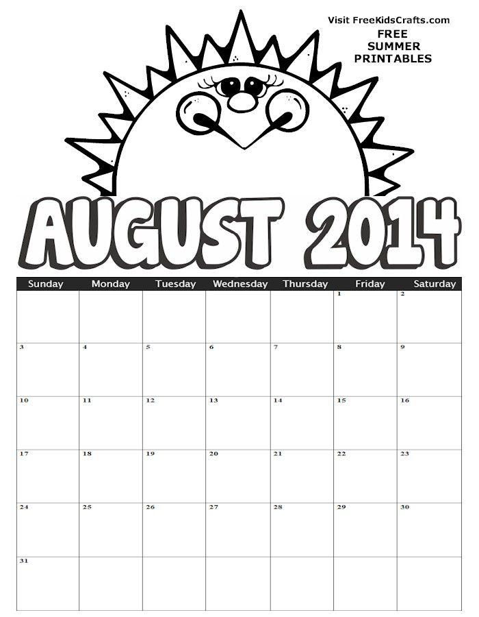 An August calendar makes me think of ISU football!!! #