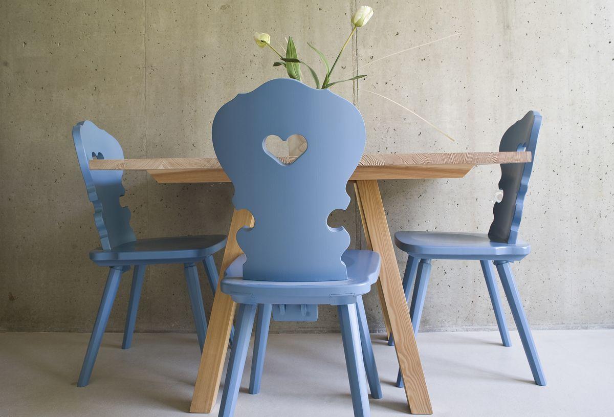 Bauernstuhl or brettstuhl german alpine heart chair | ! ~French ...