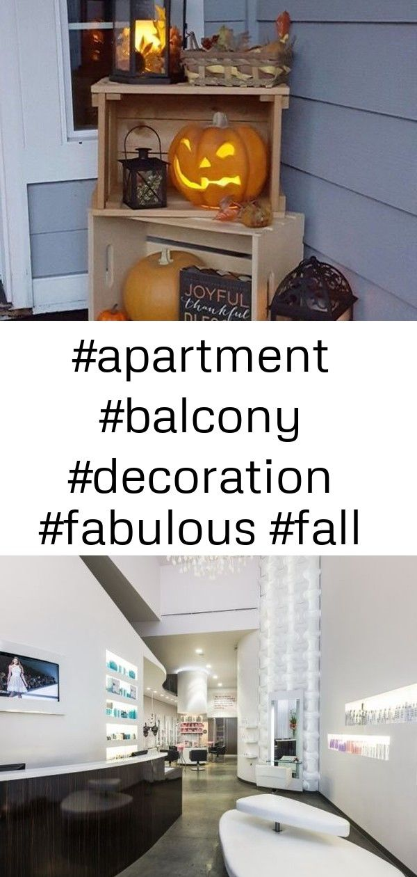 fabulous fall apartment balcon Fabulous Fall Apartment Balcony Decoration Ideas to turn your magical apartment Salon Design Barbalcony barpatio barshelvesporch barstorage...