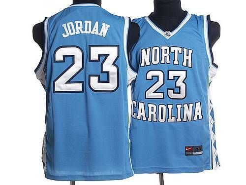 big sale 5a260 e1f6a North Carolina #23 Michael Jordan Blue Stitched NCAA Jersey ...