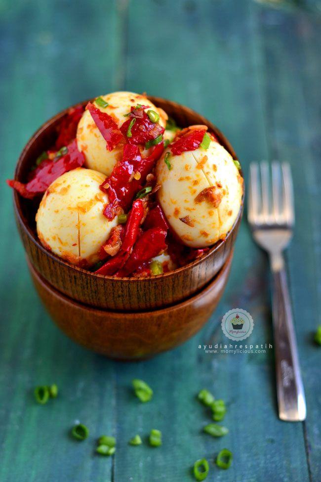 Telur Balado Fotografi Makanan Makanan Jalanan Resep Masakan Indonesia