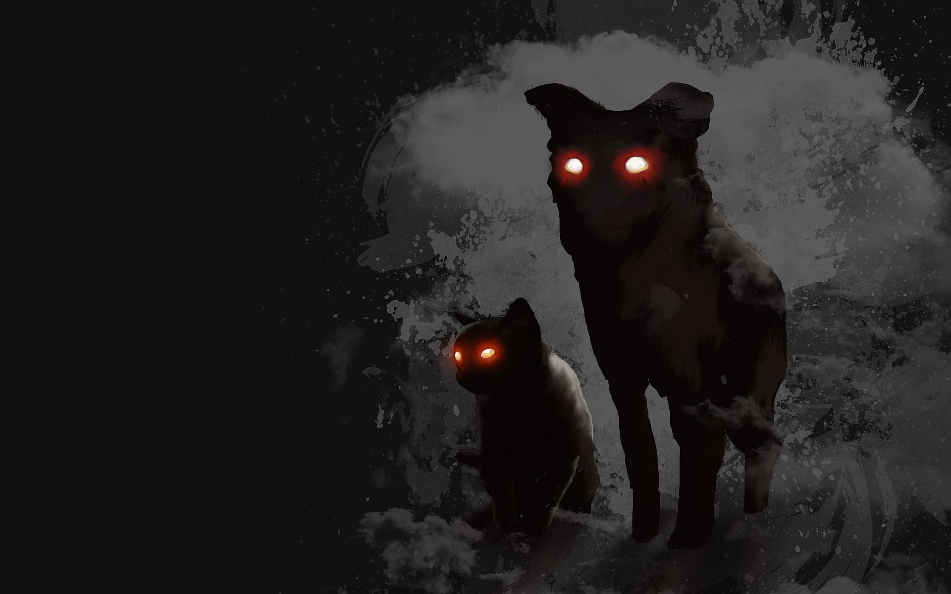Demonic Name For Dogs Mysterious Universe Black Dog Strange Beasts While the beast is generally calm and harmless, during thunderstorms it becomes agitated and leaps about in trees, fields. pinterest