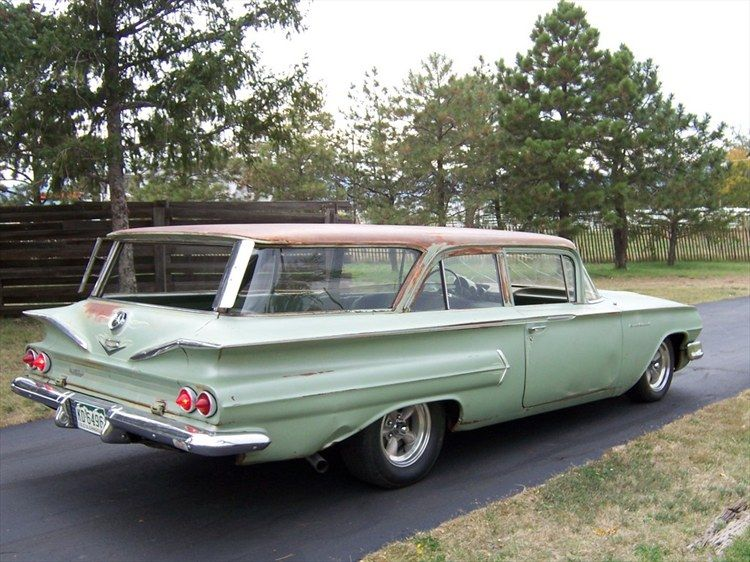 1960 Chevrolet Brookwood Wagon 1960 Chevy Brookwood Station