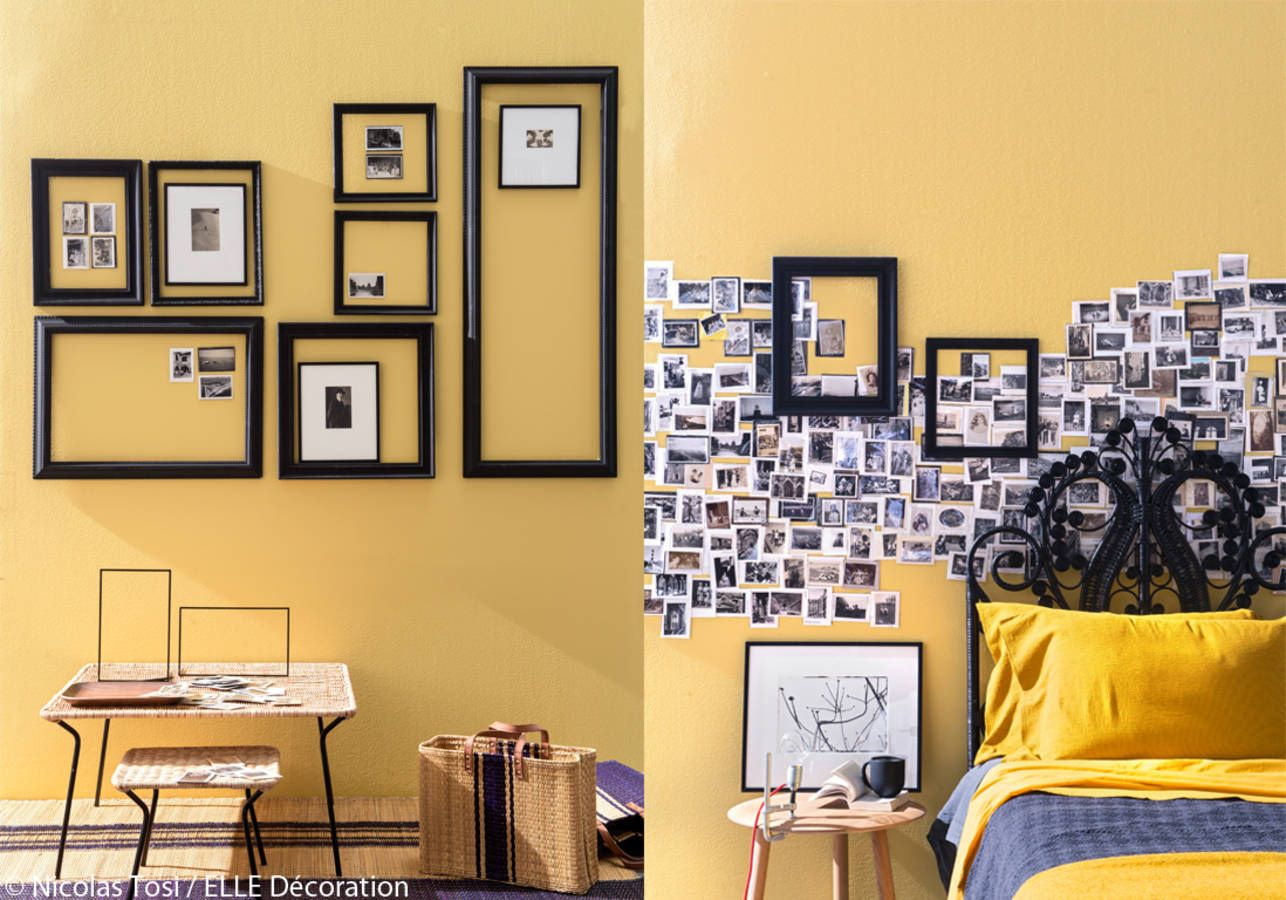 Album photo mural | Picture Frames, Wall Gallery Decor, Wall Paper ...