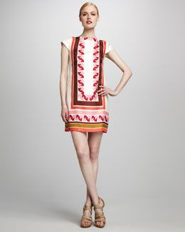 T4XAB Milly Vivienne Sheath Dress