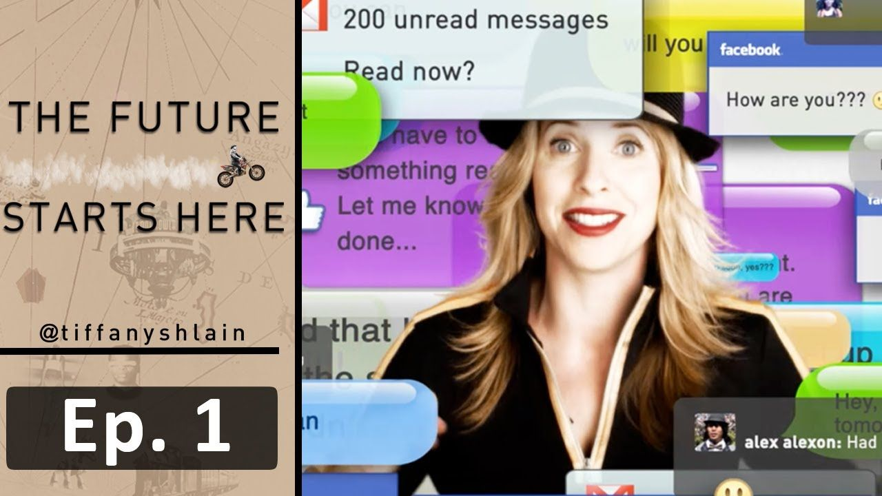 """Tiffany Shlain shares how living in today's over-connected world has led her family to unplug for one full day every week. They call them their """"Technology S..."""