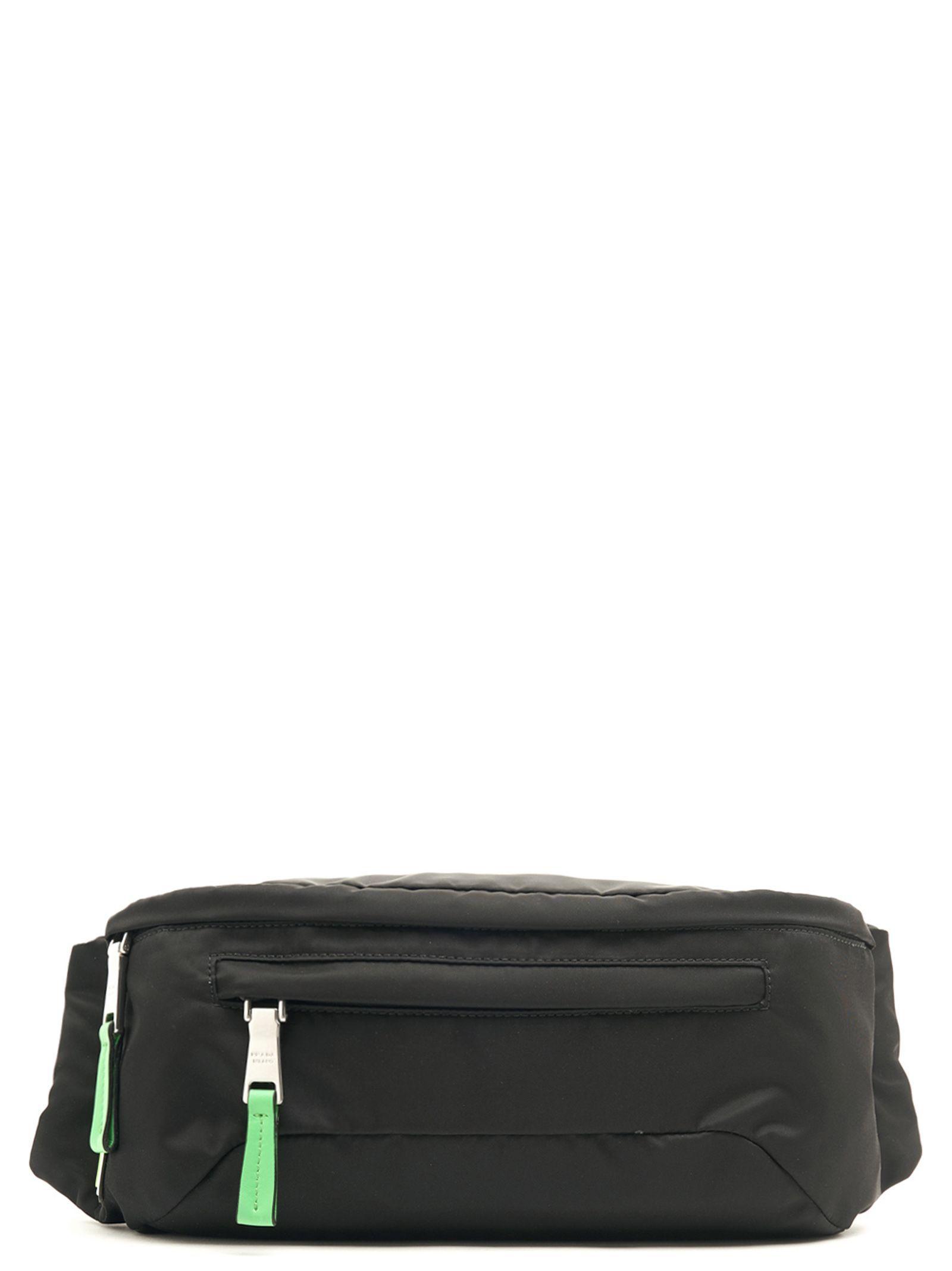 40d38e832d76  prada  bags  belt bags  nylon Prada Bag Black
