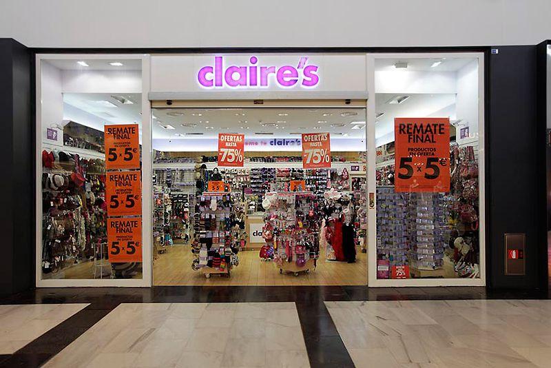 Tiendas En Madrid Centro Comercial Claire S Centro De Madrid
