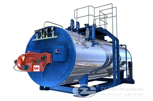 gas fired hot water boiler for sale in Estonia | Steam