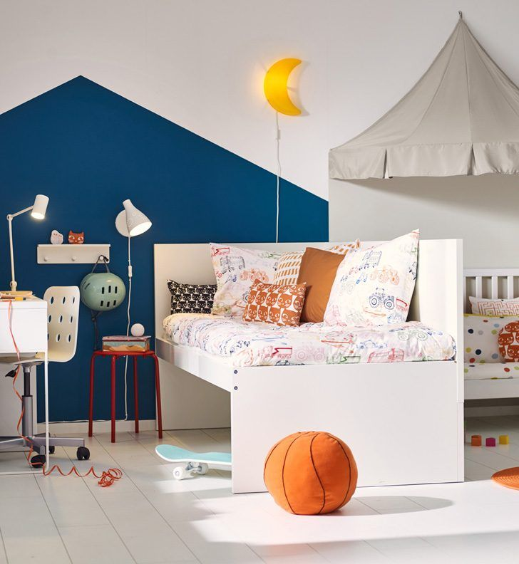 Children And Toddler S Beds In Ikea S 2017 Catalogue Ikea Kids Bed Kids Furniture Toddler Day Bed