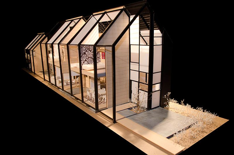Architecture House Model house for a teacher | yale school of architecture | a r c h
