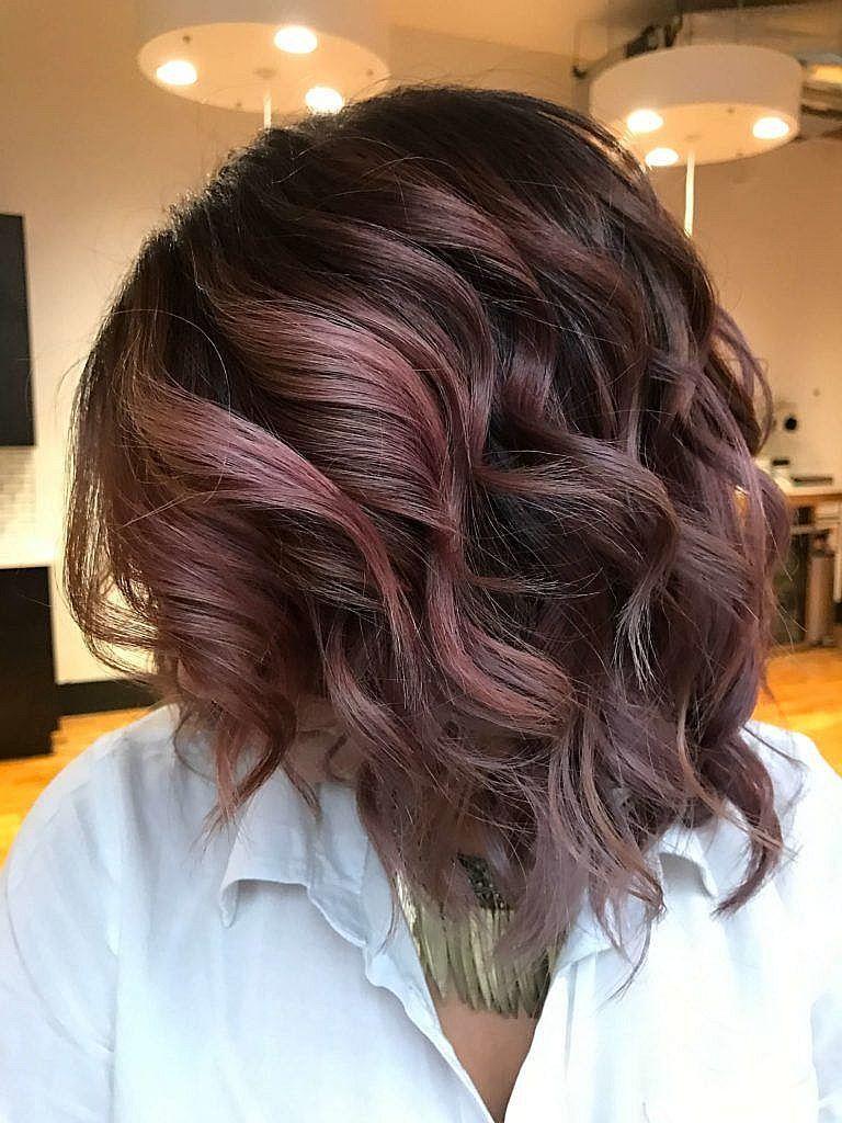pics pretty chocolate rose gold hair color ideas hair options