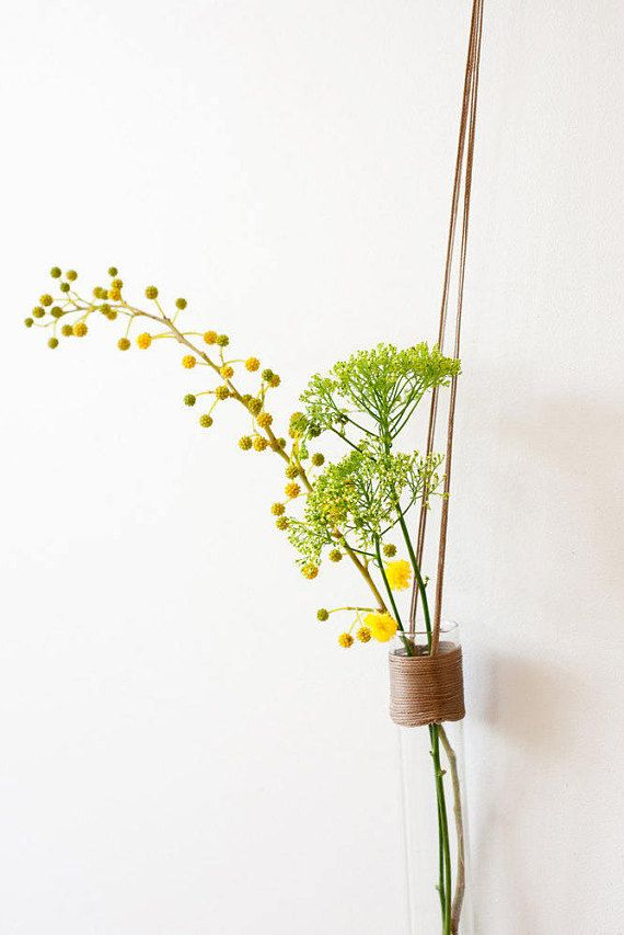 Glass Wall Vases For Flowers Wall Test Tube Vase Hanging Wall Vase