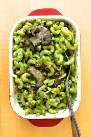 Spicy Spinach Mac & Cheese