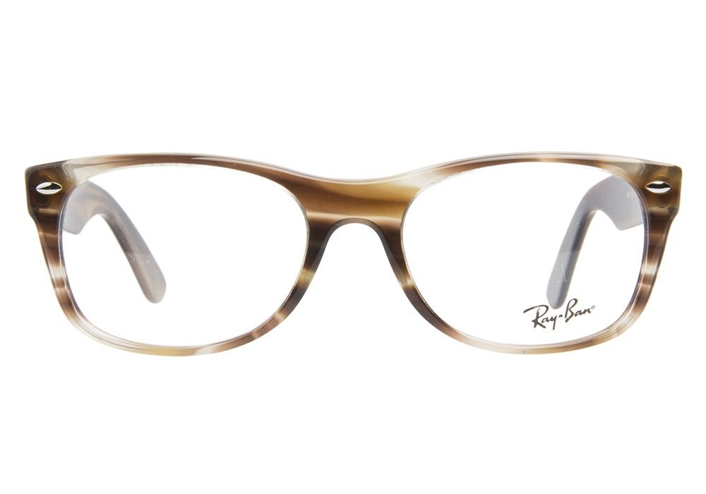 Ray-Ban RB5184 5139 Striped Brown eyeglasses. Get low prices, superior customer service, fast shipping and high quality, authentic products. from @\u2026