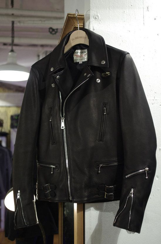 Lewis Leathers × REAL McCOY'S. Find this Pin and more on Vintage Leather  Jackets ...